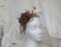 Chocolate fascinator SN916